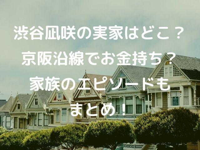 渋谷凪咲の実家の記事